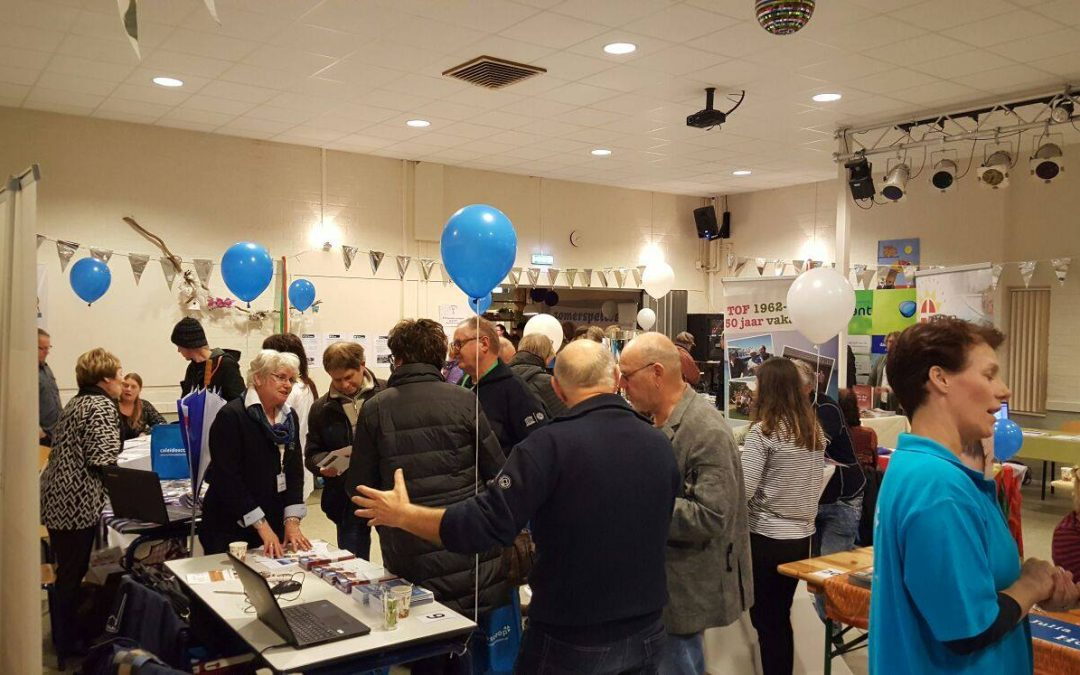 Geslaagde vrijwilligersmarkt in Heerenveen