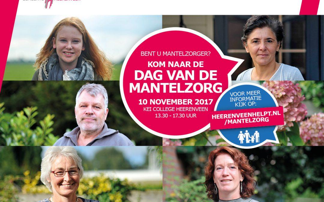 10 november, Dag van de Mantelzorg in Heerenveen