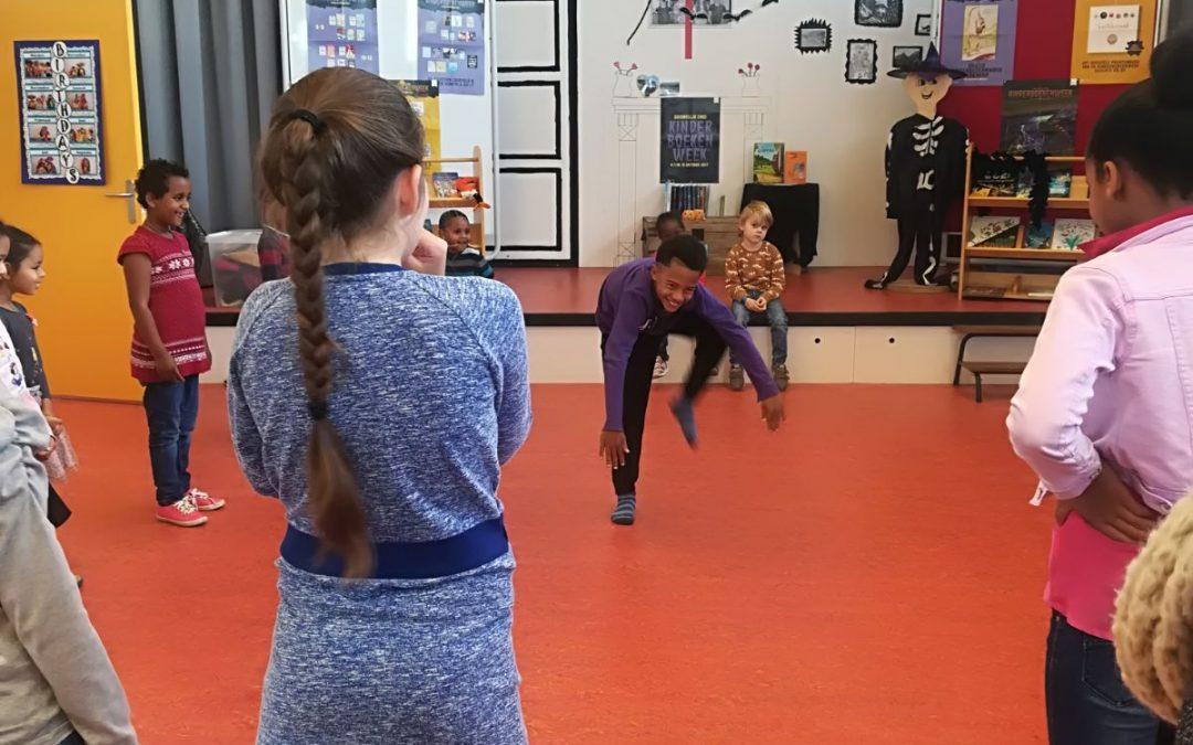 Theatersport workshop huiskamer St Jozefschool groot succes!