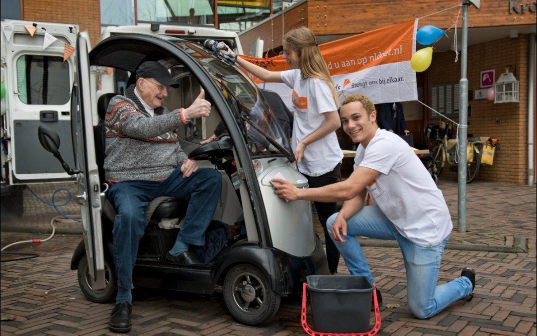 De grootste vrijwilligersactie van Nederland, ook in Heerenveen. Doe je mee?