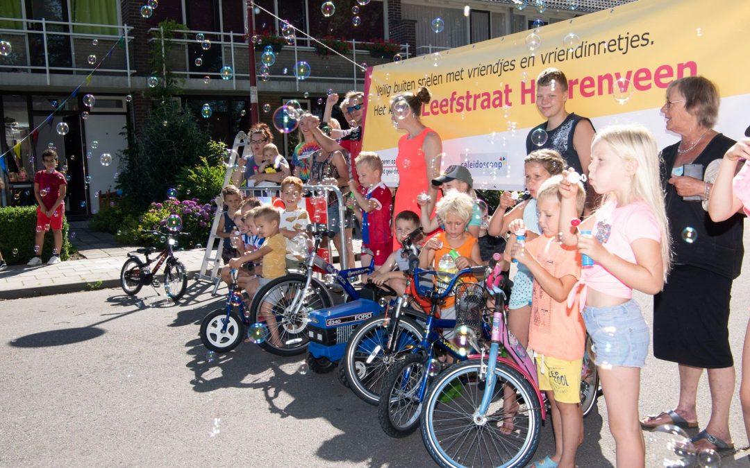 Eerste leefstraat van Heerenveen geopend
