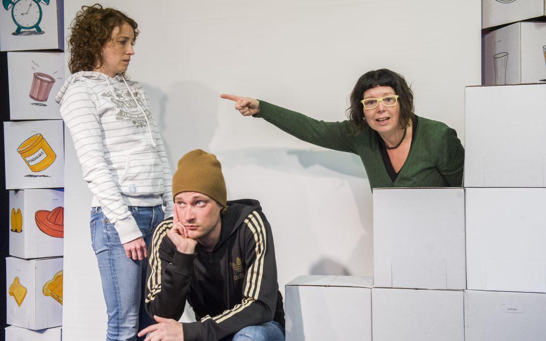 Theatervoorstelling over jonge mantelzorgers in Heerenveen