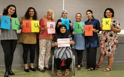 Help mee en stem op Kleurrijk Vrouwenwerk Heerenveen