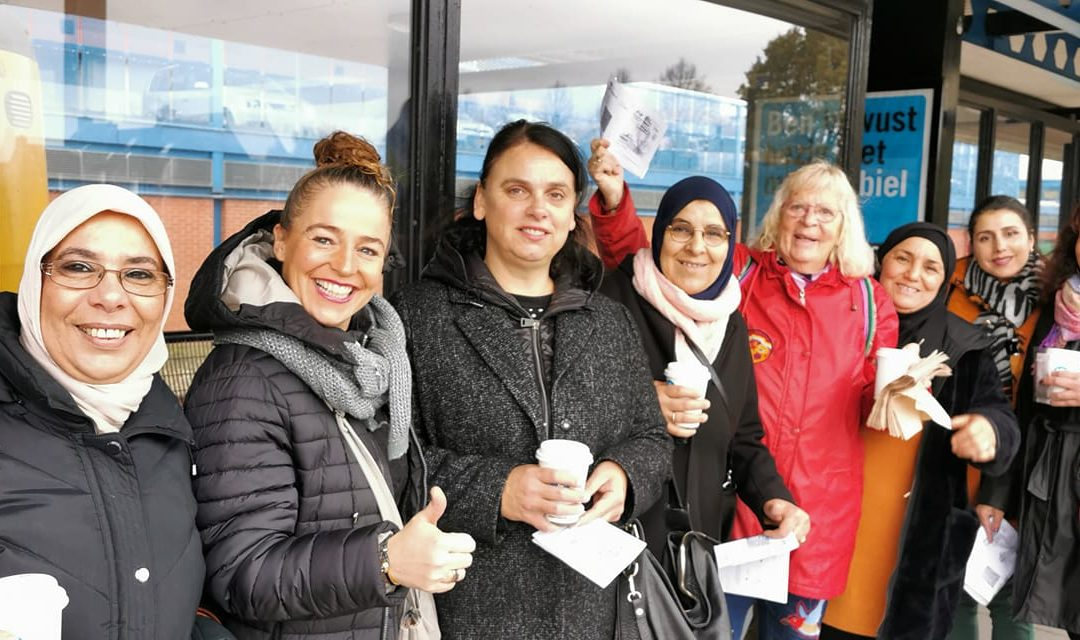 Vierde plaats voor Kleurrijk Vrouwenwerk Heerenveen bij verkiezing