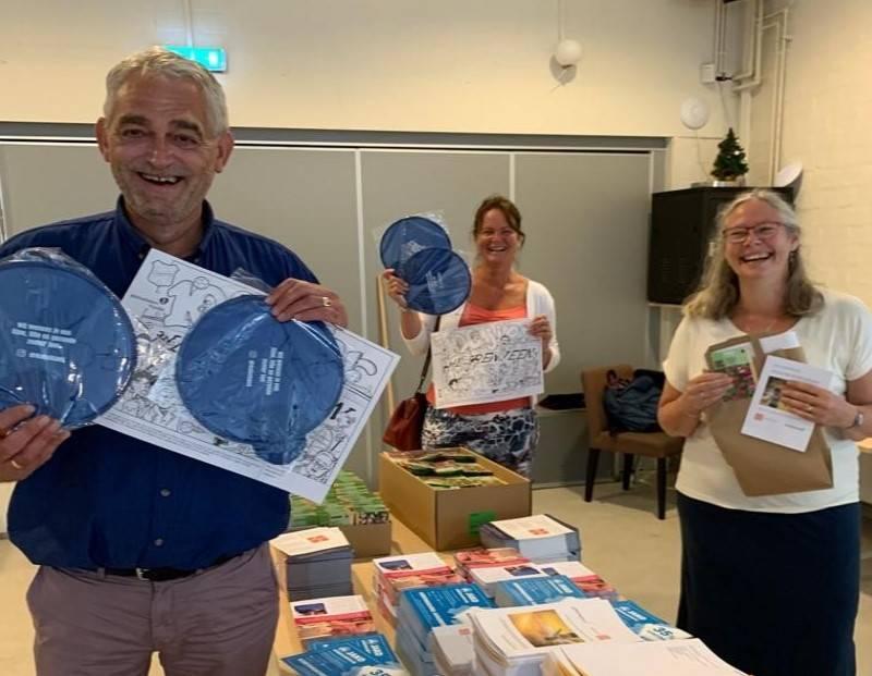 Rabobank en Pieterpikzonen bv vullen goodiebags voor basisschoolkinderen